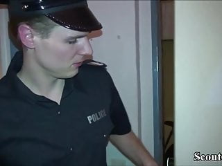 Erotic message parlours German redhead hooker caught and fuck by two guys in parlour