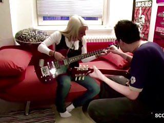 Teen fuck music Young german teen seduce big dick music teacher to fuck