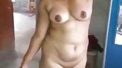 Village girl remove dress