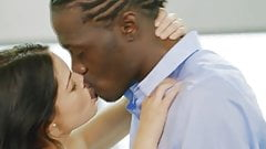 Interracial Kissing Compilation #1 by BBCElsa