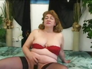 Redhead granny blowjob Granny jitka stockings
