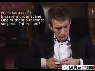 Dog licking xxx Digitalplayground - sherlock a xxx parody episode 4