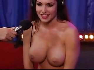 Howard stern pornstar getting off Howard stern show - girl on sybian