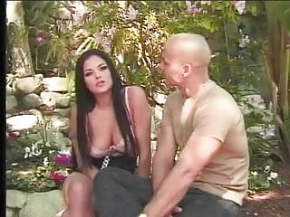 Busty brunette amateurs banging sex Busty babe in corset banged in the open airs