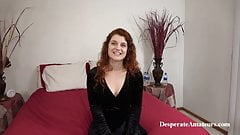 Casting redhead, squirting Vanessa, Desperate Amateurs