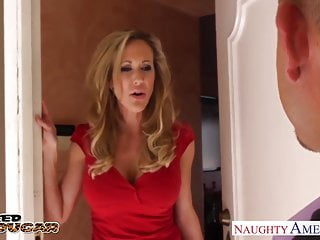 Dick large Blonde cougar brandi love fucking a large dick
