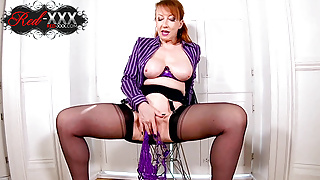 Naughty mature sex doctor Red XXX loves to tease you