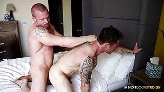 NextDoorStudios Markie More & Big Dick Muscle Hunk Friend
