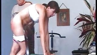 Classic Niki punished by a severe master in an emty room 001