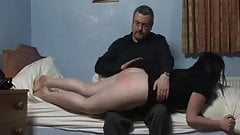 Spanked before bedtime