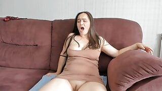 Russian girlfriends bitches caress each other on camera