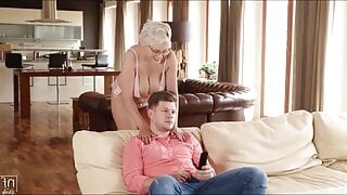 Naughty and Beautiful Angel Wicky fucked by stepson