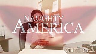 naughty america Ava Addams fucking in the desk