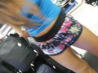 Adult slips sex bras Mlif tourist no bra nipple slip upskirt buying bag