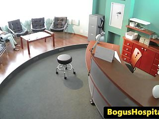 Doctor fucks gyni patient Doctor fucks patients pussy in waiting room