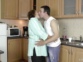 Firs time sex pictures German step-son seduce hairy granny to get firs fuck