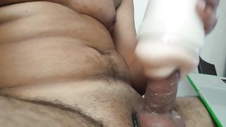 cumming with fleshlight