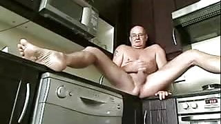 Grandfather in the Kitchen
