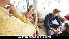 FamilyStrokes - заземленные прятки и трах