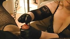 Silicone Sound Stretching By My MISTRESS