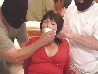Redhead bound and gagged Milf bound and gagged