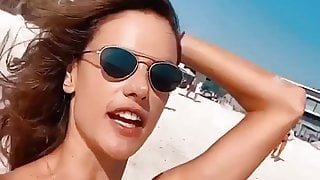 Alessandra Ambrosio and Izabel Goulart - Bikini Girls 7-3-20