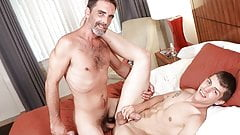 Family Creep - Silver Daddy Comes Out As Bi To Fuck Stepson
