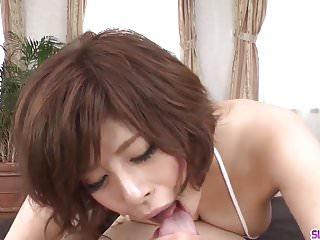 Naked japanese women suck dick - Naked milf ririsu ayaka throats dick in fantastic scenes