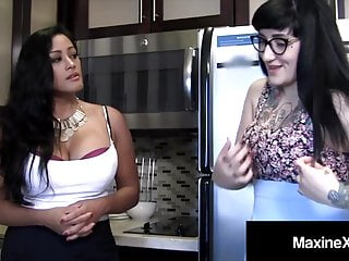 Fuck me step mommy Asian mommy maxine x fucks thick step daughter camille black