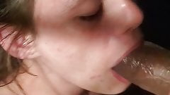 The one who i love sucking my dick Pt 2