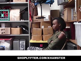 Maggies sex trade worker Shoplyfter - cute ebony teen trades sex for freedom