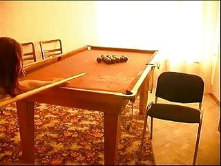 Fucked up girl on table - Mature man fucked girl on the pool table