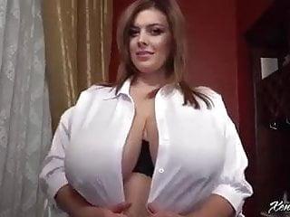 Glamour Striptease Große Titten