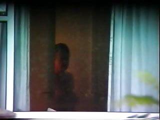 Horny mature neighbor - Mature neighbor trying to cover up