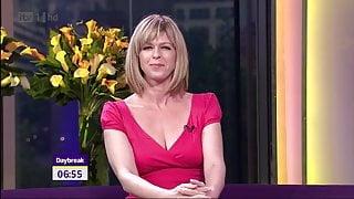 Kate Garraway, Low Cut Dress And Cleavage