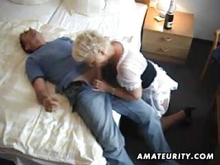 Guys suck guys Amateur milf sucks and fucks a young guy with facial cumshot