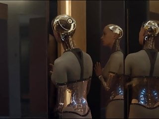Ex-wife nude dog Alicia vikander nude in ex-machina