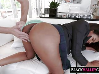 Elective surgery to correct asymmetrical breasts Sexy ebony princess gets elected
