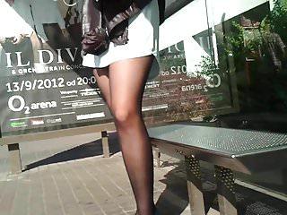 Latin legs mature secretary pornhub Pantyhose bus legs