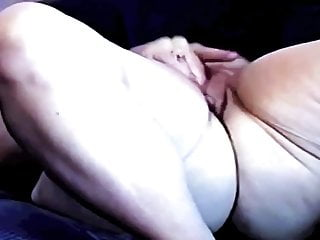Naughty nude female - Mature nude female having a selfie orgasm