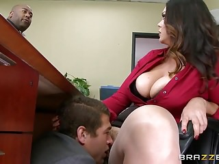 Adult stories f - Brazzers - alison tyler has a little office f
