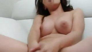 Nice tit Japanese milf – hot masturbating orgasm