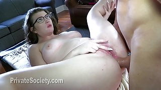 Training Her Asshole To Fuck