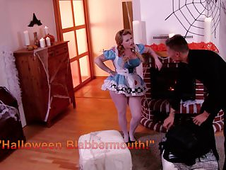 Halloween latex - Mynaughtyalbum - blondie fucks on halloween during audition