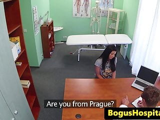 Doctor fake pic sex - Bigtitted eurobabe pounded by fake doctor