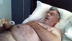 Old man daddy cum on cam 50