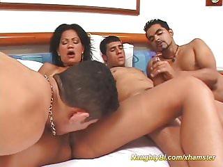 Fuck group latina Naughty bi sex fuck orgy