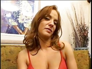 Heels stockings breasts Cute brunette with pretty breasts gets her ass pounded