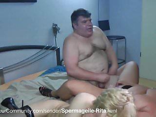 Piss und sperma gewitter Sperma ablecken und pisse schlucken mit rita
