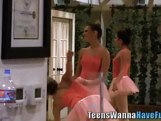 Ballet lesbian video Teen ballet dancer tastes